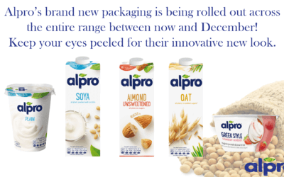 Alpro Refresh and Re-brand