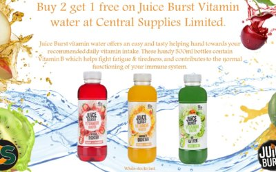 Fight Fatigue and Tackle Tiredness with Juice Burst