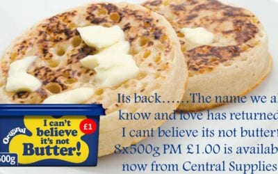 You'd Butter Believe its Back!