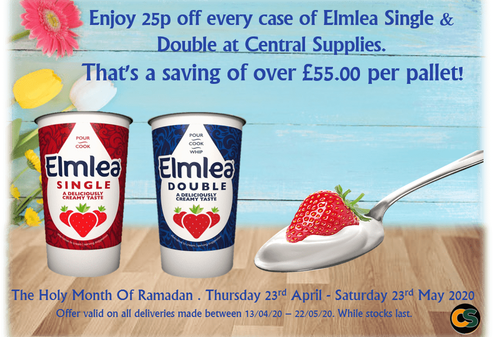MASSIVE savings on Elmlea!