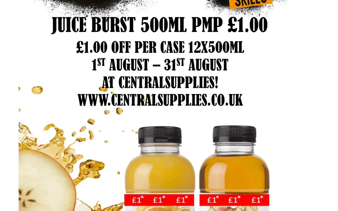 One of your 5 a day the JUICEBURST way.