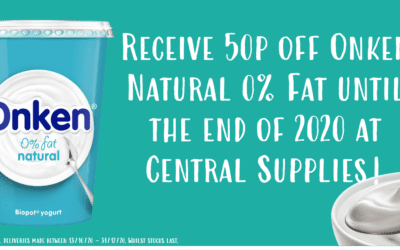 For a healthier tomorrow enjoy 50p off with our Onken promotion!