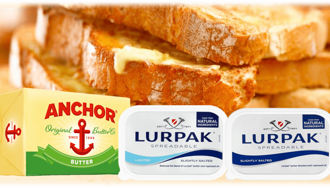 Save £££ On The Nations Favourite Butter Brands.