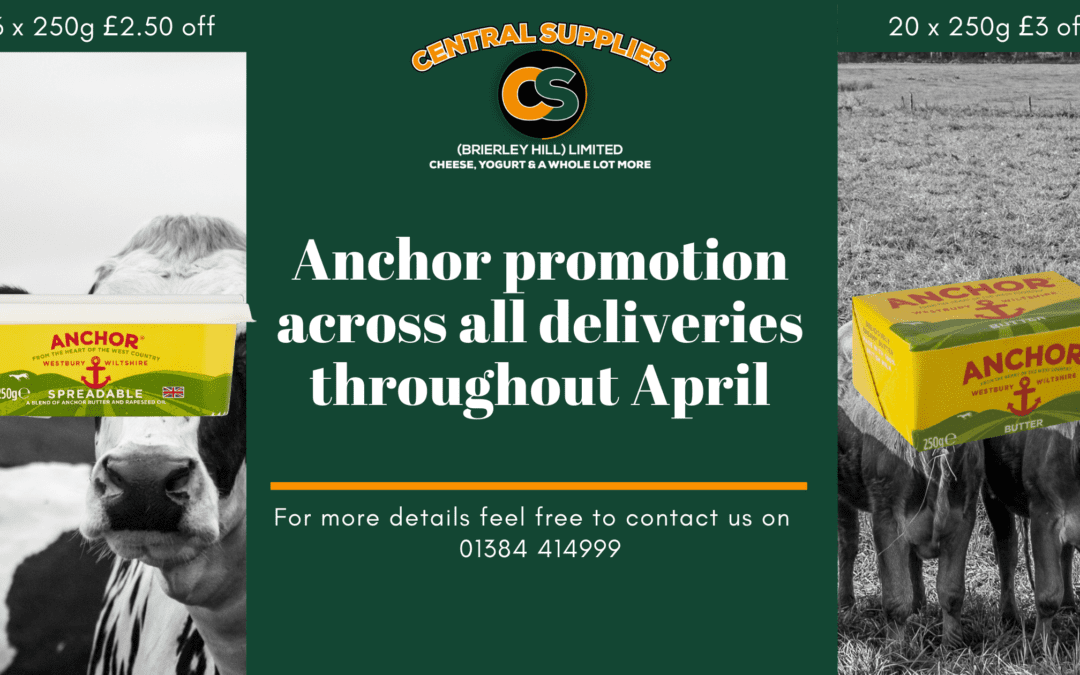 Ample savings on Anchor in April