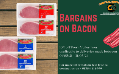 Bargains on Bacon
